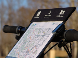 map bike rental girona
